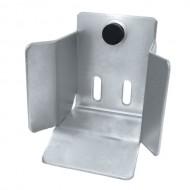 Gniazdo najazdowe do bramy przesuwnej (PROFIL 70x70mm)