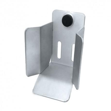 Gniazdo najazdowe do bramy przesuwnej (PROFIL 50x50mm)