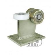 Wózek do bramy - 3 rolkowy, stały (PROFIL 80x80x4mm) - 3M-80/4