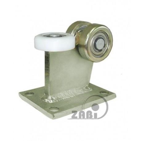 Wózek do bramy - 3 rolkowy, stały (PROFIL 80x80x4mm)
