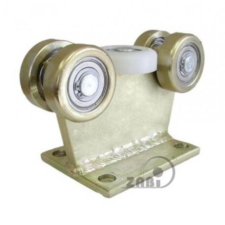 Wózek do bramy - 5 rolkowy, stały (PROFIL 80x80x4mm) - 5M-80/4