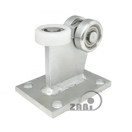 Wózek do bramy - 3 rolkowy, stały (PROFIL 70x70x4mm) - 3M-70M light