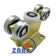 Wózek do bramy - 5 rolkowy, stały (PROFIL 70x70x4mm) - 5M-70M light