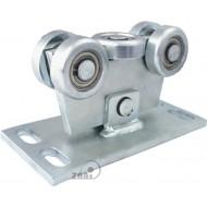 Wózek do bramy - 5 rolkowy, wahliwy (PROFIL 70x70x4mm) - W-5MM-70