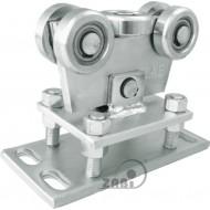 Wózek do bramy - 5 rolkowy, wahliwy (PROFIL 70x70x4mm) - WR-5MM-70