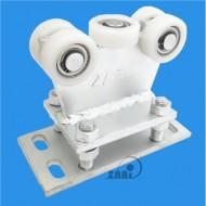 Wózek do bramy - 5 rolkowy, stały (PROFIL 50x50x3mm) - R-5T-50