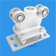 Wózek do bramy - 5 rolkowy, stały (PROFIL 50x50x3mm) - R-5M-50