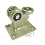 Wózek do bramy - 3 rolkowy, stały (PROFIL 60x60x3,5mm) - 3MM-60