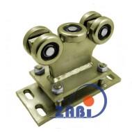 Wózek do bramy - 5 rolkowy, stały (PROFIL 60x60x3,5mm) - R-5MM-60