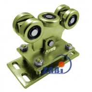 Wózek do bramy - 5 rolkowy, wahliwy (PROFIL 60x60x3,5mm) - WR-5MM-60