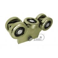 Wózek bez podstawy do bramy - wahadło (PROFIL 60x60x4mm) - WG-5MM-60/4
