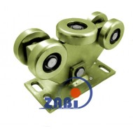 Wózek do bramy - 5 rolkowy, wahliwy (PROFIL 90x100x4mm) - W-5MM-90/100