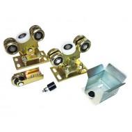 Wózki i rolki do bram przesuwnych + akcesoria (PROFIL 80x80x5mm)