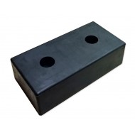 Odbój rampowy gumowy 500x250x140