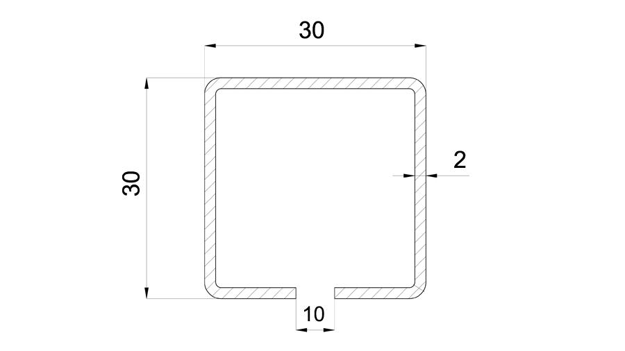 Profil 30x30