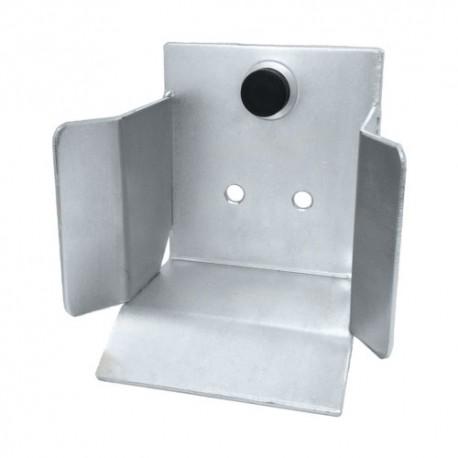 Gniazdo najazdowe do bramy przesuwnej (PROFIL 80x80mm)