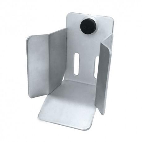 Gniazdo najazdowe do bramy przesuwnej (PROFIL 60x60mm)