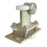 Wózek do bramy - 3 rolkowy, stały (PROFIL 80x80x4mm) - R-3M-80/4