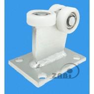 Wózek do bramy - 3 rolkowy, stały (PROFIL 70x70x4mm) - 3T-70M light