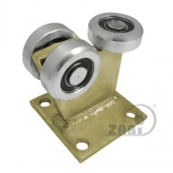 Wózek do bramy - 3 rolkowy, stały (PROFIL 70x70x4mm) - 3MM-70M light