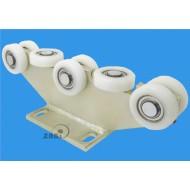 Wózek do bramy - 8 rolkowy, stały (PROFIL 70x70x4mm) - 8T-70