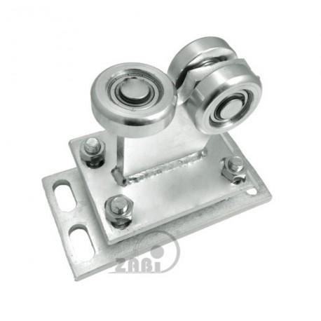 Wózek do bramy - 3 rolkowy, stały (PROFIL 70x70x4mm) - R-3MM-70