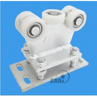 Wózek do bramy - 5 rolkowy, stały (PROFIL 70x70x4mm) - R-5T-70