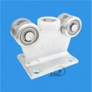 Wózek do bramy - 5 rolkowy, stały (PROFIL 50x50x3mm) - 5M-50