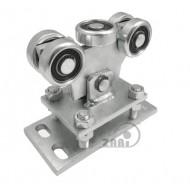 Wózek do bramy - 5 rolkowy, wahliwy (PROFIL 50x50x3mm) - WR-5MM-50