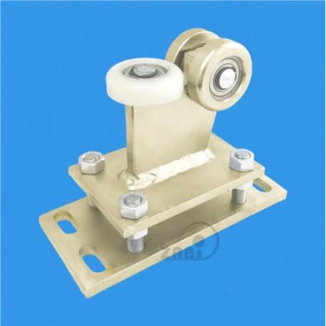 Wózek do bramy - 3 rolkowy, stały (PROFIL 60x60x3,5mm) - R-3M-60