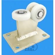 Wózek do bramy - 3 rolkowy, stały (PROFIL 60x60x4mm) - 3T-60/4