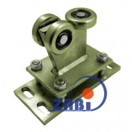 Wózek do bramy - 3 rolkowy, stały (PROFIL 60x60x4mm) - R-3MM-60/4