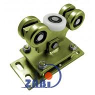 Wózek do bramy - 5 rolkowy, wahliwy (PROFIL 60x60x4mm) - WR-5M-60/4