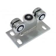 Wózek do bramy - 5 rolkowy, stały (PROFIL 30x30x2mm) - 5M-30
