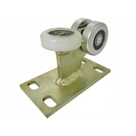 Wózek do bramy - 3 rolkowy, stały (PROFIL 40x40x2mm) - 3M-40