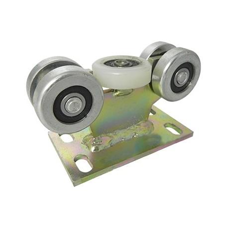Wózek do bramy - 5 rolkowy, stały (PROFIL 40x40x2mm) - 5M-40
