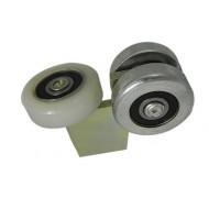 Wózek bez podstawy do bramy (PROFIL 40x40x2mm) - G-3M-40