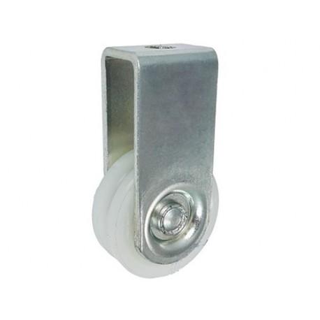 Rolka poliamidowa 45mm na linkę z mocowaniem C45/6ŁM