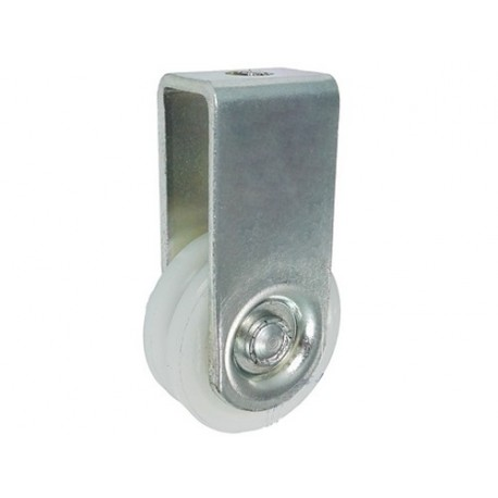 Rolka poliamidowa 45mm na linkę z mocowaniem C45/10ŁM