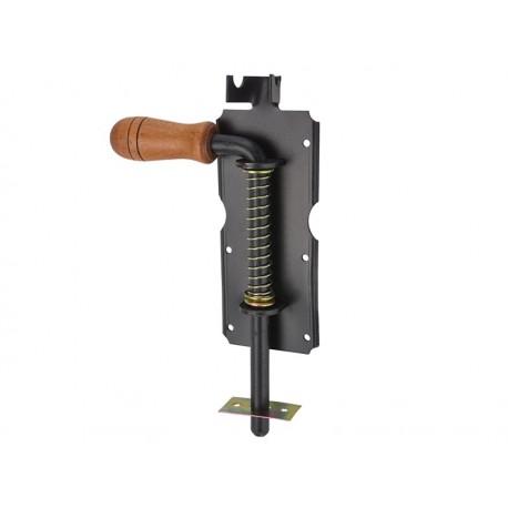 ZASUWA sprężynowa RYGIEL 210mm do BRAMY FURTKI DRZWI