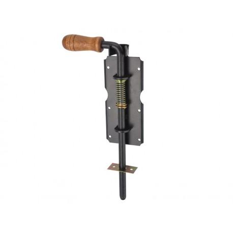ZASUWA sprężynowa RYGIEL 310mm do BRAMY FURTKI DRZWI