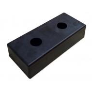 Odbój rampowy gumowy 450-200-100