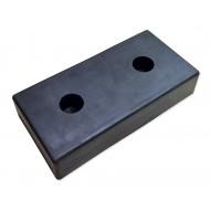 Odbój rampowy gumowy 500-250-100