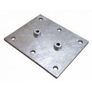 Płyta montażowa odbojnika rampowego 310x260mm